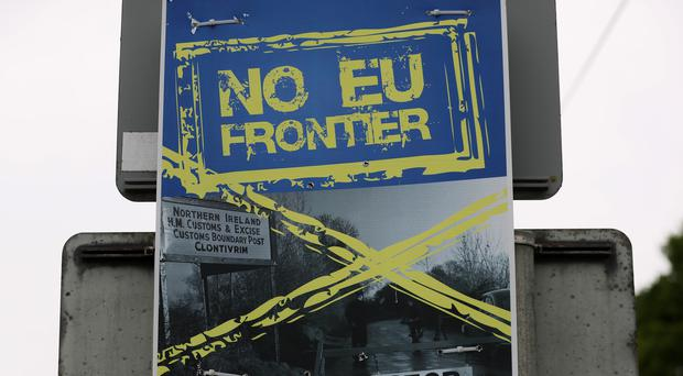 An increase in the number of organised crime gangs exploiting the Irish border is to be examined by MPs (Brian Lawless/PA).
