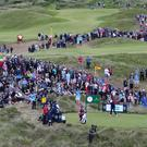 Thousands of fans have been watching the Open (David Davies/PA)