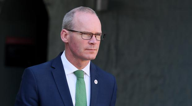 Minister of foreign affairs Simon Coveney (Brian Lawless/PA)