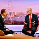 Tanaiste Simon Coveney on the Andrew Marr Show