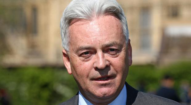 Sir Alan Duncan has quit as a minister at the Foreign Office (PA)