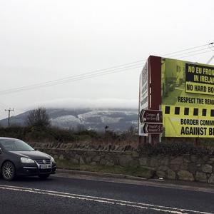 The backstop is an insurance policy intended to prevent the imposition of a hard border on the island of Ireland (David Young/PA)