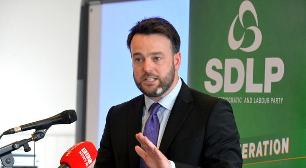 SDLP leader Colum Eastwood has called for a general election.