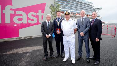 New Belfast cruise ship terminal opens
