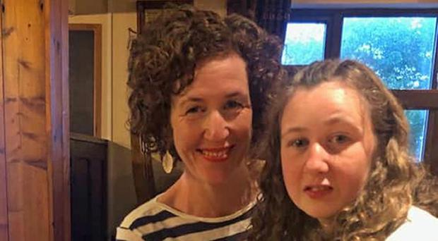 Meabh Quoirin with her daughter Nora, who has gone missing while on holiday in Malaysia (Family handout/PA)