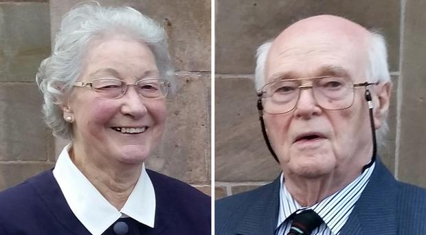Marjorie and Michael Cawdery (PSNI/PA)