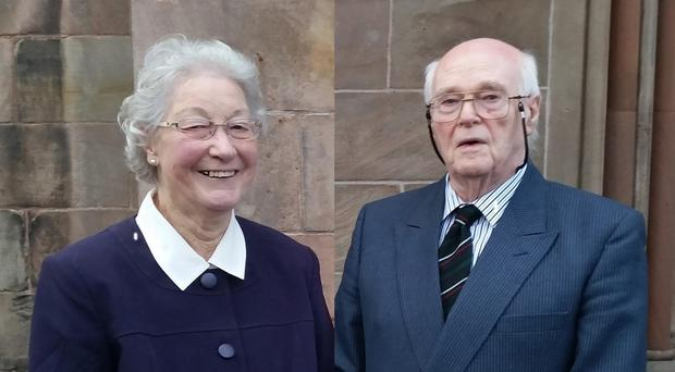 Michael and Marjorie Cawdery