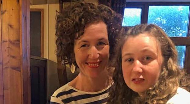 Meabh Quoirin with her daughter Nora (Handout/PA)