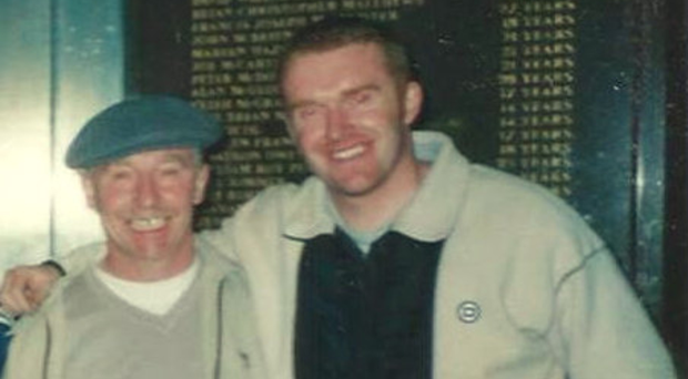 Murder victim Thomas Breen and crime reporter son Stephen