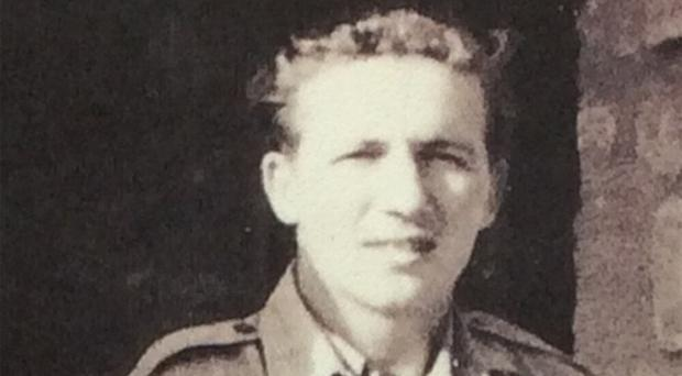 Samuel's uncle Harold 'Lee' Tracey in his RAF days