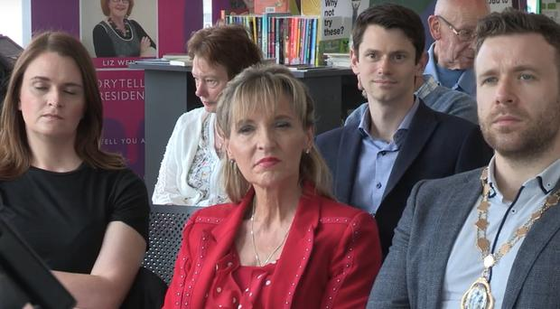 Martina Anderson at Tullycarnet Library