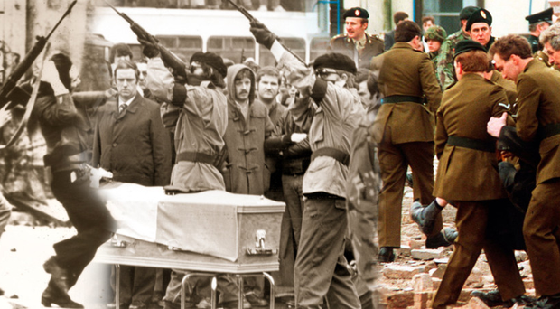 Some of the scenes from the new BBC documentary My Journey Through The Troubles, which is being screened tonight