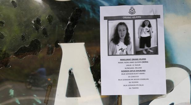 Nora Quoirin disappeared from a Malaysian resort (AP Photo/Lai Seng Sin)