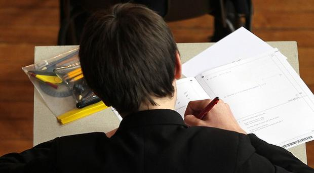 Last year boys performed better than females in attaining A* grades at A-level in Northern Ireland by 0.4% for the first time since the grade was introduced in 2010 (stock photo)