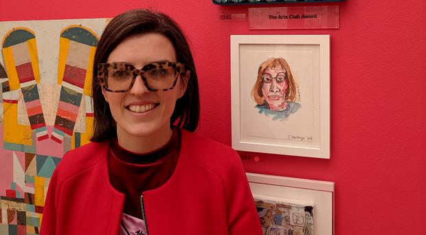 Rathfriland artist Grace McMurray won the Arts Club Award at the Royal Academy of Arts Summer Exhibition in London