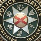 The car was extensively damaged after being set on fire in Downpatrick