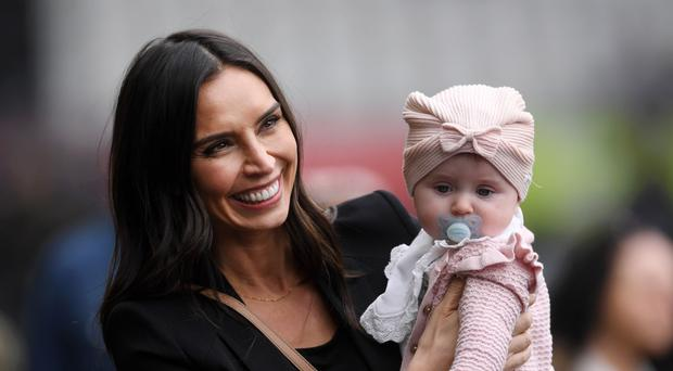 Christine Lampard with daughter Patricia