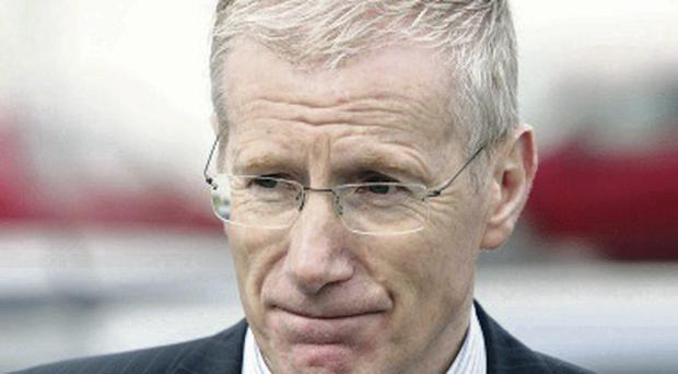 The DUP MP Gregory Campbell