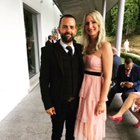 Tina Rea and fiance Simon Pollock, who were set upon earlier this month