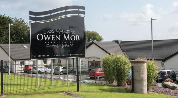 Owen Mor nursing home has been shut to new admissions by the regulator