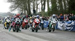 The Tayto Open Race at the Tandragee 100