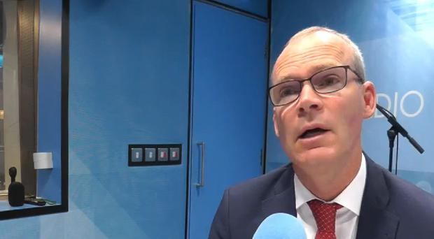 Ireland's Foreign Affairs Minister Simon Coveney has said that a no-deal Brexit is more likely now than ever (RTE Radio One)