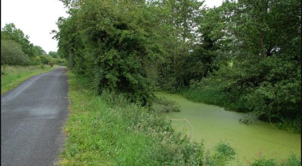The towpath beside Acton Lake where a woman was followed by a stranger