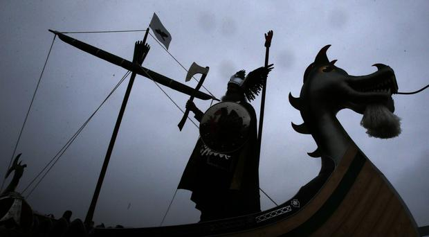 The Vikings settled in Ireland in the 10th century (PA)