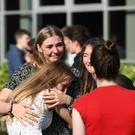 The number of top GCSE results in Northern Ireland dropped by 2.2 percentage points following a shake-up of the grading system (Joe Giddens/PA)