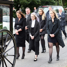 The funeral of father-of-four John Mulholland