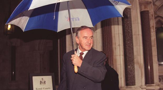 Former Irish Taoiseach Albert Reynolds' grasp on the realities of political life in Northern Ireland may have been uncertain, British officials said (David Giles/PA).