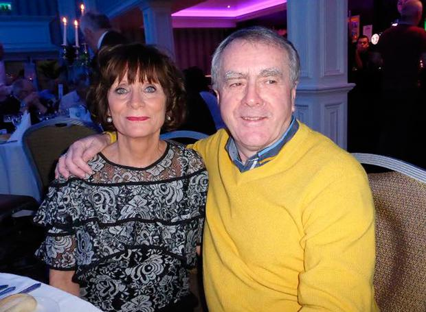 Sean Coyle with wife Patricia
