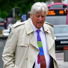Michael Mansfield QC attending court yesterday