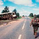IRA bombing of bus near Ballygawley in 1988 left eight soldiers dead