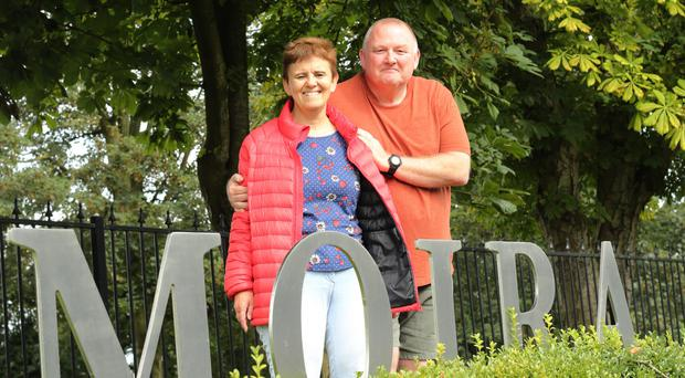 Elisabeth and Dave Smart in Moira, Co Down