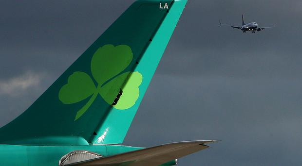 Aer Lingus and Ryanair are cutting a number of their routes from Belfast. (PA Archive)