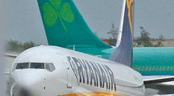 Ryanair and Aer Lingus are scaling back Belfast routes