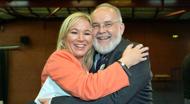 Michelle O'Neill and Francie Molloy