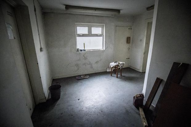 The kitchen where some of the abuse took place