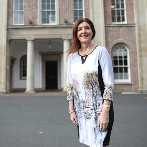 Principal of Royal Belfast Academical Institution Janet Williamson
