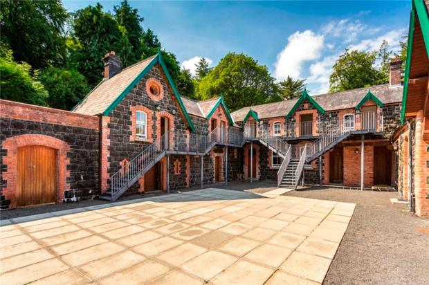 Magheramorne Estate, near Larne, which is on the market for £975,000