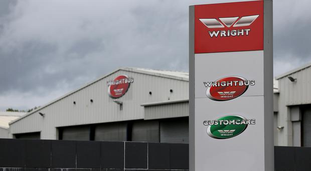 Wrightbus went into administration this week, leaving hundreds of people out of work (PA)