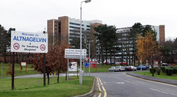 Altnagelvin Hospital faced huge pressures