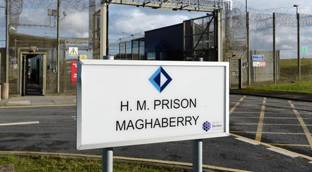 More than 400 incidents of self-harm by cutting were recorded at Maghaberry prison in the past year (Michael Cooper/PA)