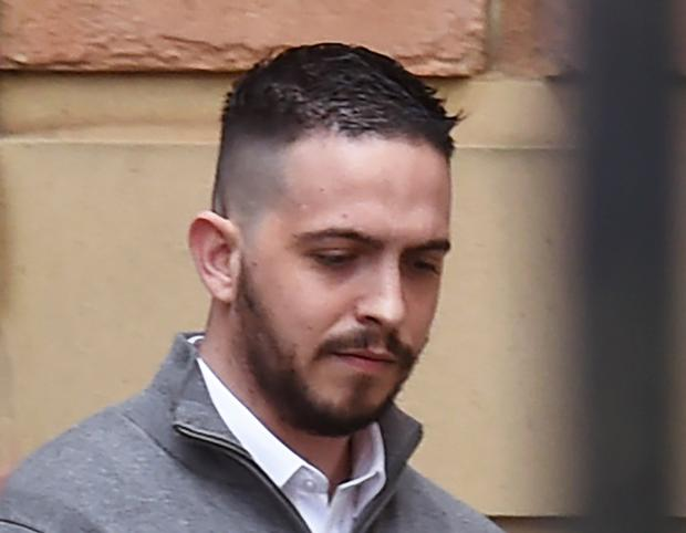 Liam Whoriskey at a previous court hearing