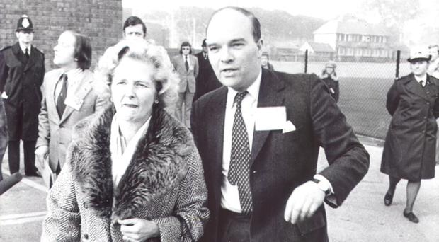 Ian Gow MP with Prime Minister Margaret Thatcher