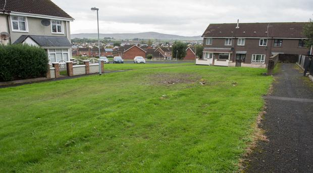 Moss Park in Derry's Galliagh estate, where a man was shot on Monday