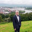 Wille Carlin in Derry on what he claims was a visit in recent weeks