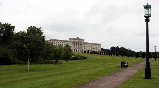 The DUP has blamed Sinn Fein for a failure to reach agreement to restore power sharing government at Stormont as Northern Ireland approaches 1,000 days without devolution. (PA Archive)