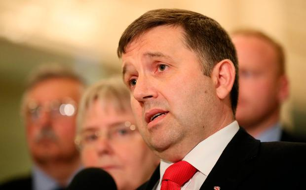 Outgoing UUP leader Robin Swann